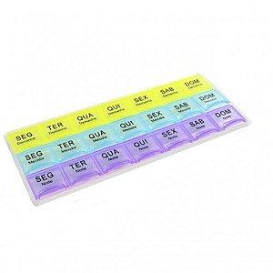 Porta Comprimidos Semanal Body Flex  21 Períodos