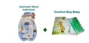 Kit Aspirador Nasal Individual Blister + Bolsa Térmica Comfort Bag Baby
