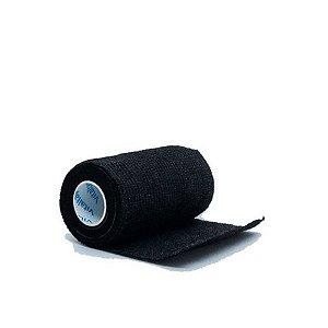 Bandagem Elástica Vitaltape Auto Aderente Coban Preto