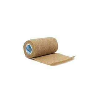 Bandagem Elástica Vitaltape Auto Aderente Coban Bege