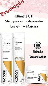 KIT UTI (Shampoo + Condicionador + Máscara  250GR) + Brinde Necessaire