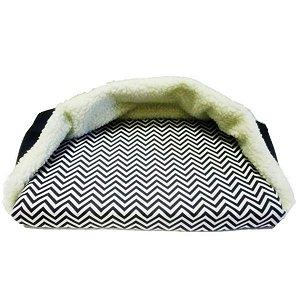 Cama para Cachorro com Cobertor Fixo