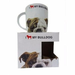 Caneca I Love my Dog - Bulldog