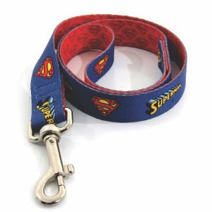 Coleira para cachorro do Superman