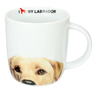 Caneca I Love my Dog - Labrador