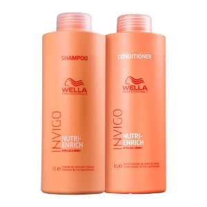 Wella Invigo Nutri-Enrich Shampoo 1L + Condicionador 1L