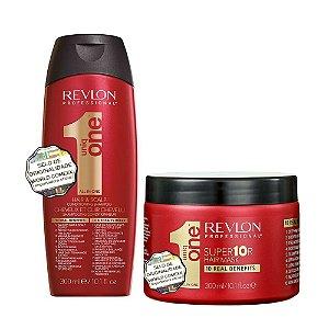 Revlon Profissional Uniq One Shampoo 300ml + Máscara 300ml