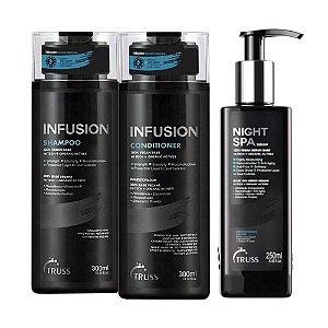 Truss Infusion Sh 300ml + Cd 300ml + Night Spa