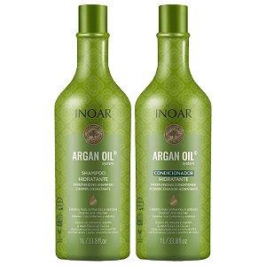 Inoar  Kit Argan Oil  Sh 1L + Cond 1L