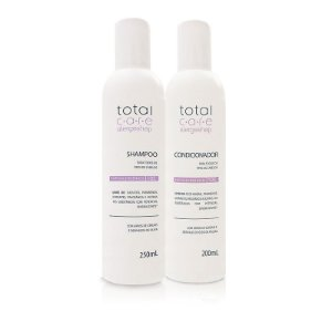 Kit Shampoo + Condicionador Hipoalergênico Total Care