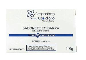 Sabonete Em Barra Uso Diário Hipoalergênico 100g Alergoshop