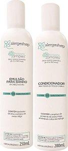 Kit Nossos Amores Alergoshop Emulsão de Banho + Condicionador