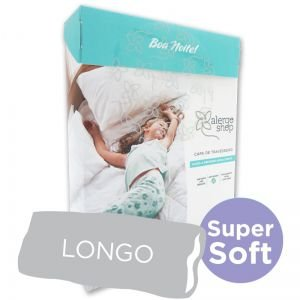 Capa para Travesseiro Longo 50 X 135 Super Soft Anti Ácaros - Alergoshop