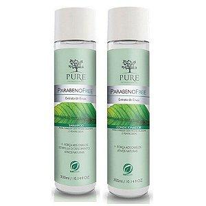 Kit Shampoo + Condicionador Pure Extrato de Ervas 300ml Cabelos Mistos