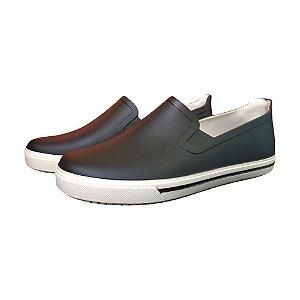 Sapato Boa Onda de PVC Job Cor Preto