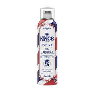 Espuma de Barbear Spray King 150ml - My Health