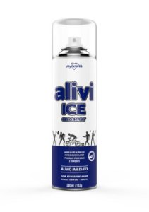 Gelo Spray Alivi Ice 280ml - My Health