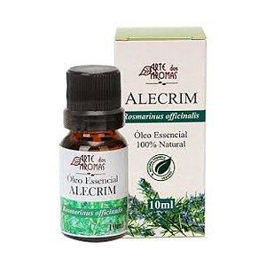 Óleo Essencial Alecrim 10ml Arte dos Aromas