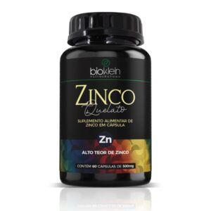 Zinco Quelato 500mg 60 caps - Bioklein