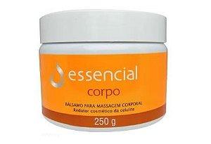Balsamo Anti Celulite Creme de Massagem Corporal 250g Essencial Cosméticos