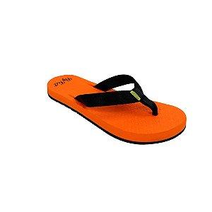Chinelo Ortopédico Fly Feet Extra Macio Feminino Cor Laranja