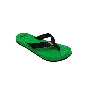 Chinelo Ortopédico Fly Feet Extra Macio Feminino Cor Verde