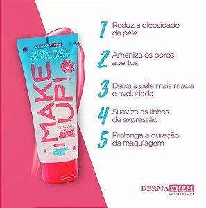 Make up Sabonete Primer Pré Maquiagem Dermachem - 100ml