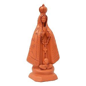 Nossa Senhora Aparecida de cerâmica