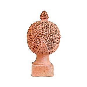 Pinha Bola grande em cerâmica