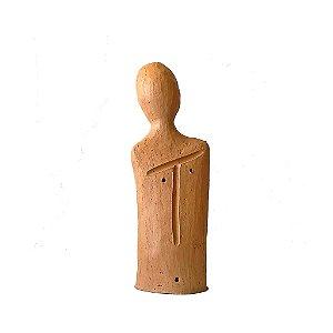 Escultura busto KFI média em cerâmica
