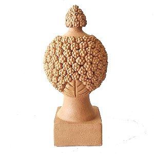 Pinha Portuguesa pequena em cerâmica