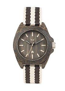 Relógio de Madeira WeWOOD Phoenix 38 Wenge Grey