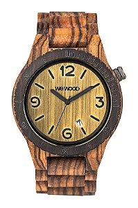 Relógio de Madeira WeWOOD Alpha Zebrano