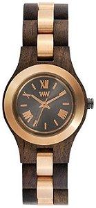 Relógio de Madeira WeWOOD Criss ME Choco Rough Rose