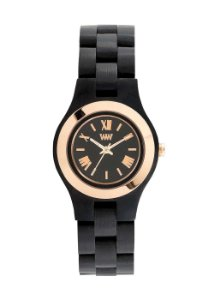 Relógio de Madeira WeWood Criss MB Black Rose