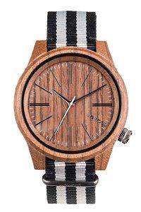 Relógio de Madeira WeWood Torpedo Nut Grey