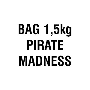 Bag Pirate Madness - Sal de Parrilla Temperado para Peixes e Frutos do Mar Granulado Entrefino