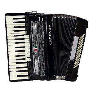 Acordeon Cadenza 80 baixos CD80/37 Preta