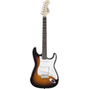 Guitarra Squier Affinity Stratocaster Brown Sunburst