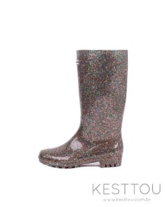 Galocha Feminina Kesttou KT036 Glitter