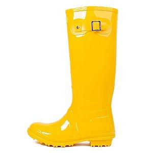 Galocha Bota Clássica Kesttou Amarelo Gloss KT001