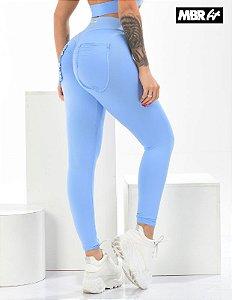 Legging frufru azul BB