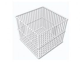 Cesto Quadrado ou Retangular em Arame com PVC
