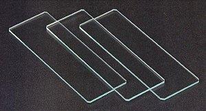 Lamínula de vidro (100 unid.)