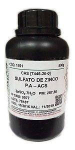 SULFATO DE ZINCO SECO (1H2O) PA