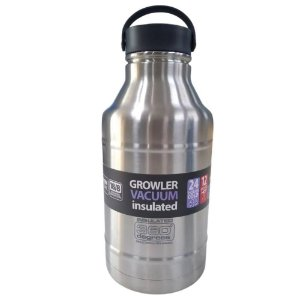 Garrafa Térmica Growler 1,8L Nautika - Prata