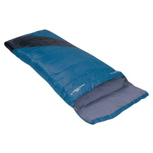 Saco de Dormir Liberty +4°C à +10°C Nautika - Azul e Preto