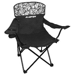 Cadeira Dobrável HBA-23MH Albatroz Fishing - Preto