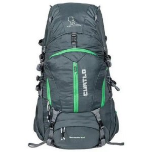 Mochila Mountaineer Curtlo 40+5L LF - Cinza c/ Verde