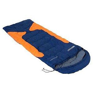 Saco de Dormir Freedom Nautika -1,5° à -3,5° - Azul e Laranja